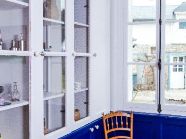 Décoration d'une salle à manger réalisée par Anne M., à Offranville en Normandie